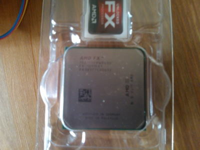 AMD Bulldozer FX-8 Eight Core 8150 Black Edition 3.60Ghz (Socket AM3+) Processor