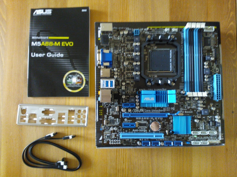 Asus M5A88-M EVO Motherboard Contents