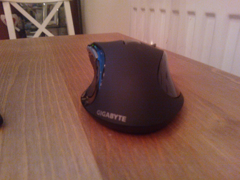 Gigabyte M6980 Macro Gaming Mouse Back