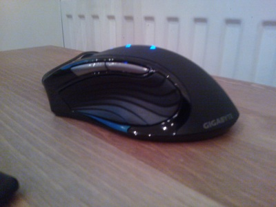 Gigabyte M6980 Macro Gaming Mouse Left