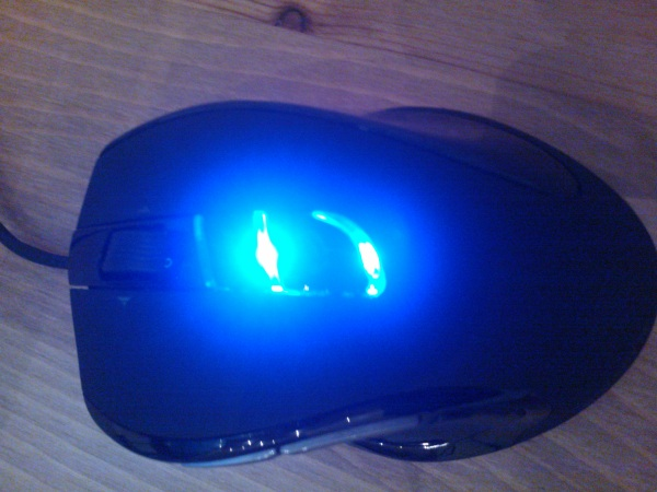 Gigabyte M6980 Macro Gaming Mouse Top
